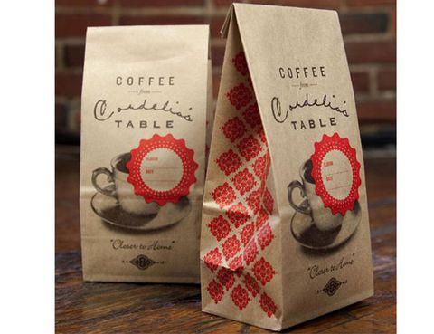 Bao bì giấy đựng cafe