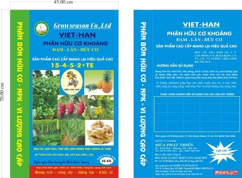 BAO BÌ PHÂN HUỮ CƠ KHOÁNG VIET-HAN