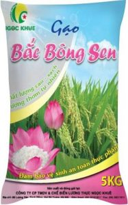 Bao bì gạo Bắc Bông Sen 5Kg