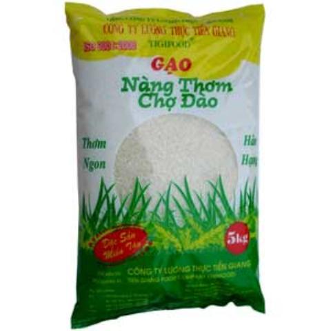 Bao bì gạo Nàng Thơm Chợ Đào
