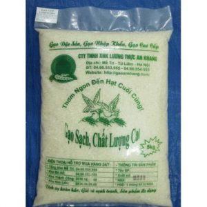 Bao bì Gạo Sạch An Khang