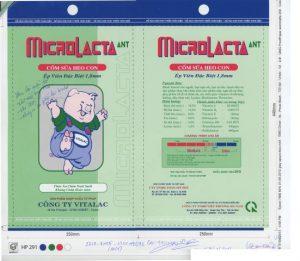 Bao bì Cốm Sữa Heo Con MICAOLACTA