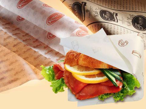 Giấy gói thực phẩm an toàn đảm bảo vệ sinh