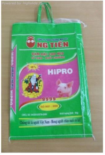 BAO THỨC ĂN ĐẬM ĐẶC CHO HE0 HIPRO 9999 5kg