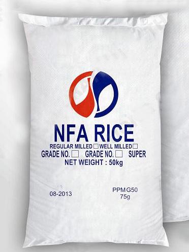 Bao PP Đựng Gạo NFA