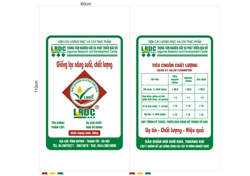 Bao Bì Giống lạc chất lượng cao LRDC