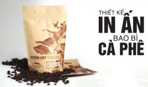 Quy trình in bao bì, gia công bao bì sản phẩm cafe