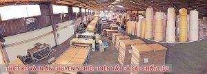 Quy mô xưởng sản xuất bao bì carton tại Tâm Thành