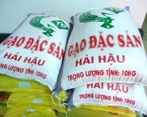 Túi pp dệt dựng gạo