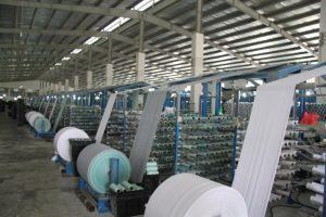 Dây chuyền SX tại Công ty Sản xuất bao bì Ni lông
