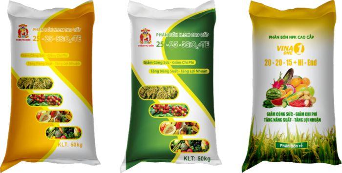 Bao bì nông nghiệp được sử rộng rộng rãi ở khắp mọi nơi