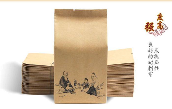 Túi giấy đựng chè bảo vệ sức khỏe của người sử dụng Xu hướng sử dụng bao bì bảo vệ môi trường