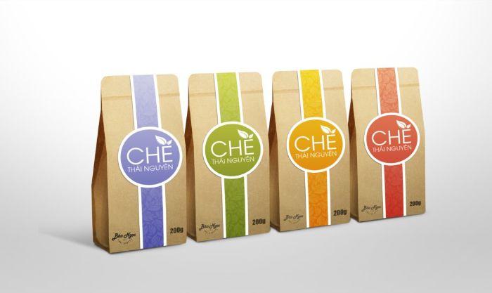 Túi giấy đựng chè nâng cao giá trị sản phẩm