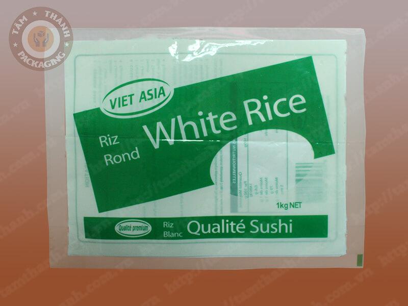 Bao bì màng ghép - Bao bì gạo