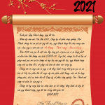 Lời chúc đầu năm 2021
