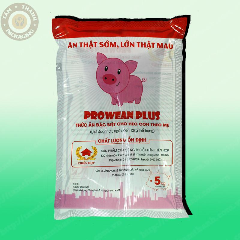 Bao bì thức ăn đặc biệt Prowean Plus làm từ màng ghép phức hợp