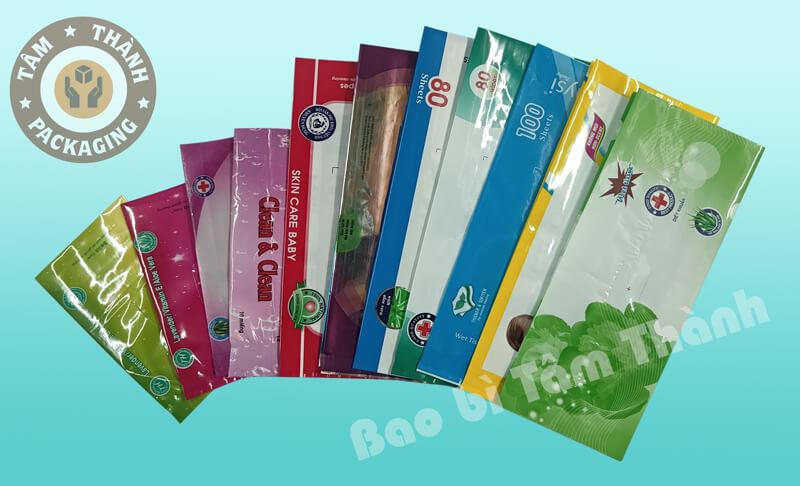 Túi khăn giấy ướt màng ghép phức hợp
